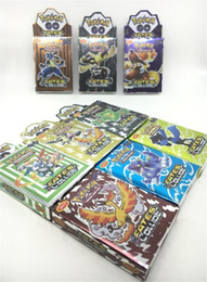 Wholesale Toys Games Up - 25Cards Set POKE GO Trading Card Games Newest English Edition Anime Monsters Cards board games Card Toys Children Kids cards Free DHL Ship