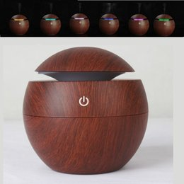Wholesale Cars For Babies - 130ml Aromatherapy Essential Oil Diffuser LED Lights Ultrasonic Cool Mist Aroma Humidifier for Office Bedroom Baby Room