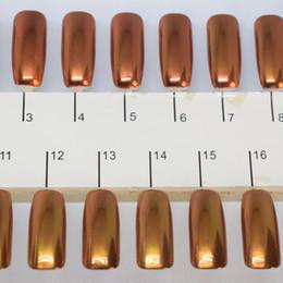 2020 cromo oro rosa Al por mayor-1g / caja ROSE-GOLD espejo brillo en polvo en polvo magnífico arte del clavo cromo pigmento brilla polvo decoraciones del arte del clavo cromo oro rosa baratos