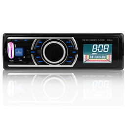 Wholesale Playing Mp4 - 12V Car Stereo In-Dash FM Radio MP3 Audio Player Support Bluetooth 3.0 with USB SD AUX Port USB SD MMC Card Play with Remote Control +B