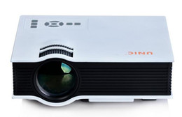 Wholesale Mini Projectors Wholesale - UNIC UC40 + Projector Mini Pico Portable Projector 3D Projector HDMI Home Theater Beamer Multimedia Video