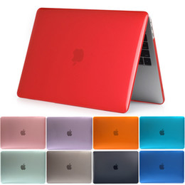 Wholesale Free Laptop Covers - Crystal Laptop Hard Cover Laptop Case For MacBook Air Pro Retina 11 12 13 15 for mac book New Pro 13 15 inch with Touch Bar Free DHL