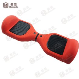 Wholesale Cheap Wholesale Scooters - Cheap 6.5 inch hoverboard silicone sleeve for hoverboard scooter food grade silicone case sleeve with 19 colors -J01
