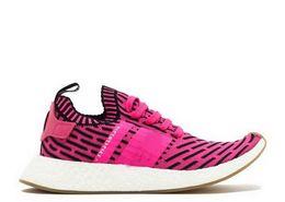 Wholesale Ladies Cotton Lace Socks - 2017 New Women NMD R2 PK Boost Sneakers Ladies Cheap Fashion Triple Black White Red Pink Primeknit Sock Sport Shoes