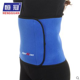 Wholesale High Quality Back Support Brace - Wholesale- High Quality Lower Back Lumbar Band Support Belt Waist Brace Guard Posture Waist Yoga Lose Weight Abdomen Bodybuilding Protector