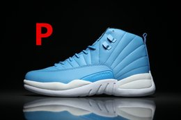 Wholesale Old Basketballs - 2016 cheap Re-old 12 wool XII Basketball Shoes Sneakers Men Taxi Playoffs Gamma White Gray Retros Shoes Sports Shoes.