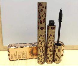 Wholesale Full Leopard - NEW Hot Makeup LASH Mascara black Waterproof Professional Leopard 10ml Mascara DHL Shipping+gift