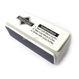 Wholesale Nail Shining Buff - Wholesale- Professional New Mini 3 Ways Nail Buffer Block and Files Shining Buffer Buffing Glock For Nail Art Manicure