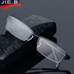 Wholesale Titanium Rimless Spectacle Frames - Eyewear Titanium Glasses Frame Men Eyeglasses Computer Optical Prescription Reading Clear Eye Lens male Spectacle oculos de grau
