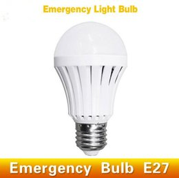 Wholesale Globe Industrial - E27 LED Bulb Emergency Light Lamp 5W 7W 9W 12W Rechargeable Led Light for Outdoor Industrial lighting