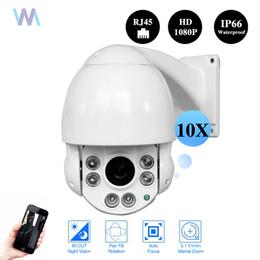"""Wholesale Mini Ip Ptz Dome - 4.5"""" MINI 2.0 HD 1080P HD-IP IR Medium Speed Dome PTZ 5.1~51mm 10X Zoom Cameras"""