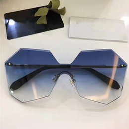 Wholesale Crystal Eye Lens - 4280 Fashion Sunglass Women Brand Deisnger UV Protection Lens Women Sunglasses Big Frame Summer Style Adumbral Butterfly Crystal Lens Case