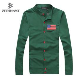 Wholesale American Flag Clothing Men - Wholesale-ZEESHANT M-4XL Clothing Spring Hoodies Slim Fit Streetwear Hoodie Men Casual American Flag Partem in Men's Hoodies & Sweatshirts