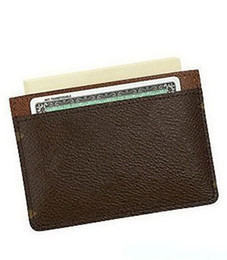Wholesale Backpack Wallet - Brand New Classic Men's women Brand leather Card holders handbag Shoulder Bags Short Wallet Totes bag backpack Purse Wallet free shipping
