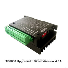 Wholesale Cnc Drive - TB6600 4A 9-42V Stepper Motor Driver CNC Controller, Stepper Motor Driver Nema tb6600 Single Axes Hybrid Stepper Motor For cnc Upgraded 42 5