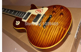 Wholesale Solid Rosewood Electric Guitar - Wholesale-Selling! 2016 Chinese new guitar electric guitar. Clear color, free shipping