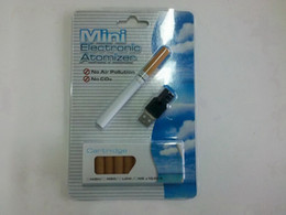 Wholesale Disposable Rechargeable Cigarette - Wholesale-Hot sale Disposable E Cigarette Vaporizer Vape Pen Blister Kits V9 Disposable E-cig USB Rechargeable with 10pcs Refills
