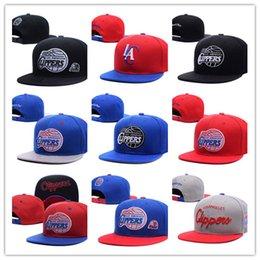 Wholesale Clippers For Men - Los Angeles Adjustable paul 3# Snapback Hat many Snap Back Hat For Men Basketball Cap Blake Griffin 32# Clippers Hat men women Baseball Cap