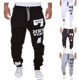 Wholesale Harem Cargo Pants For Men - Camo baggy Joggers 2017 New Arrival Fashion Slim Fit 4 colors Jogging Pants Men Harem Sweatpants Cargo Pants for Track Training