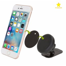 Wholesale Car Step - Stick on Dashboard Magnetic Car Moun Universal Car Mount Cellphone Holder for iPhone 7 Plus One Step Mounting Reinforced Magnet