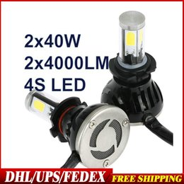 Wholesale H7 Led Canbus - DHL Fedex 10Sets G5 LED Headlight Kit H1H3 H7 H11 H16 9005 9006 9007 9004 H13 H4 Led Canbus 40W Car Led Headlight