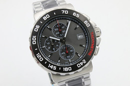Wholesale Luxury Black Calibre 16 - luxury brand watch calibre 16 new limited quartz chrono mens watch sapphire glass original clasp sports TWO TOME mens watches free Shipping