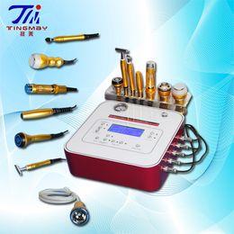 Wholesale Galvanic Machines - 7 in 1 diamond dermabrasion galvanic iontophoresis no needle mesotherapy machine