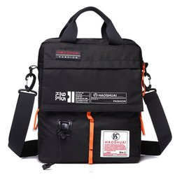 Wholesale Ipad Vintage - Wholesale- Men multifunctional waterproof cross body bags with handle for ipad wallet girls messenger bags shoulder bag handags new XA172YL