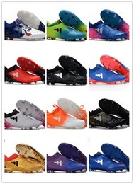 Wholesale Leather Bowl - Laceless X 16+ Purechaos FG AG Soccer Shoes Messi Purechaos FG Football Shoes Soccer Boots Men Boots Purechaos Soccer Football Cleats 39-45