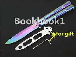 Wholesale Multitool Camping - 8 style ButterflY BENCHMADE balisong bm training knife Free-SHIPPING hunting knives 1pcs+1 tool+1 training blade MULTITOOL Wholesale