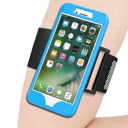 Teléfono celular para la banda online-Deportes brazalete Running Case para Iphone 5 6 7 Samsung S7 edge note7 Correr bolsa brazalete de entrenamiento Holder Pounch Cell Bolso de la banda del brazo del teléfono móvil