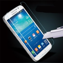 Wholesale Screen Guard For Galaxy S3 - Tempered Glass Screen Protector Protective Guard Shield Film for Samsung Galaxy Note 2 3 4 5 S3 S4 S5 mini S6 S7