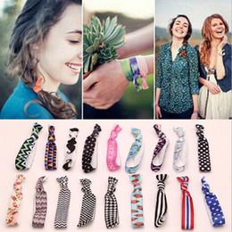 Nueva moda lindo nudo elástico cintas para el pelo del pelo de cola de caballo anillos del pelo pulseras de tela nudo sombreros accesorios para el cabello desde fabricantes