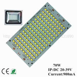 Discount led square panels rgb - Wholesale- 20pcs LED pcb floodlight pcb plate 70W 162*93 7000-7700lm SMD5730 Light Source Panel for outdoor LED Landscape Street light diy