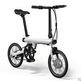 Wholesale E Bike Bicycle - Original Xiaomi Mijia Qicycle EF1 Electric Scooter Bike bicycle 40-60km per range Mini foldable electric Scooter bicycle E-Bike