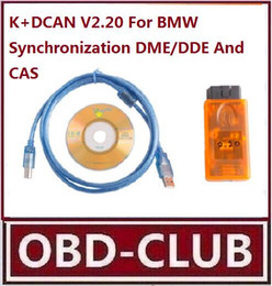 Wholesale Dcan Bmw Diagnostic Scanner - Auto Scanner V2.20 K+DCAN ForBMW Synchronization DME DDE And CAS work with All systems of series and OBDII diagnostic system