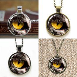Wholesale lucky eye pendant - 10pcs Eye Pendant Lucky Glass Photo Necklace keyring bookmark cufflink earring bracelet