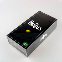 Wholesale New Dvd Box Sets - Wholesale- High Quality CD The Beatles Stereo 16CD & 1 DVD Boxset Music Cd Box Set Brand New facoty sealed Drop Shipping!