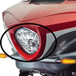 Wholesale Victory Cross - Chrome Polaris Victory Motorcycle LED Headlight Kit For Cross Country MODELS