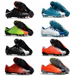 Wholesale Cheap Leather Ankle Boots - Low Ankle Hypervenom Phantom III FG Soccer Cleats Neymar Boots Hypervenoms ACC High Quality Mens Football Boots New Cheap Soccer Shoes 2017