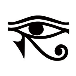 graphic stickers for cars Promo Codes - For Eye Of Horus Egyptian God Vinyl Decal Car Styling Sticker Window Jdm Bumper Pagan Symbol Accessories Graphics
