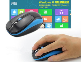 Wholesale Mouse Notebook - cdyeer good quantily Mouse game wireless mouse 2.4G for WIN8 windows desktop notebook optical mouse