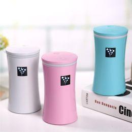 Wholesale car aromatherapy diffuser wholesale - Genuine 230ML Mini USB Humidifier Diffuser Ultrasonic Cool Mist Fresh Air Spa Aromatherapy Home Office Car Diffusers Purifier Humidifiers