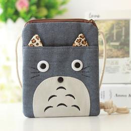 borsa della moneta di totoro Sconti 2017 bambini borsa portafogli ragazzi Anime bag Totoro borse mini bambini ragazzi borsa Regali per bambini Cartoon Carino portamonete