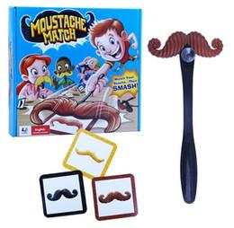 Bigodes jogo bigode quebra divertido bigode passe cartão crianças jogo da família de Fornecedores de jogos de cartas correspondentes