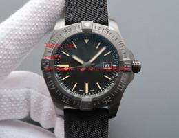 orologio da polso originale Sconti Orologi da polso di lusso di alta qualità 44 millimetri Avenger Blackbird automatico meccanico quadrante nero V1731110-BD74GCVT Orologi da uomo