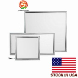 Wholesale Led Ceiling Panel Lights - LED panel 48W light 600*600mm led pannel 4800LM high brightness SMD2835 Ceiling Light warranty 3 years CE RoHS