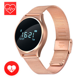 Wholesale Pressure Touch - M7 blood pressure monitor smart watch real-time heart ratepedometer touch screen Nordic nRF51822 OLED bluetooth 4.0 HR BP