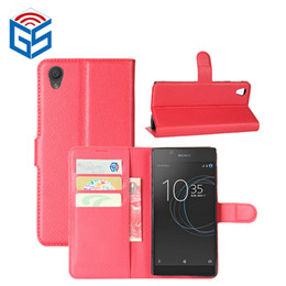 Wholesale Xperia Protective Cover - Bestseller 2017 PU Leather Wallet Back Protective Cover Case For Sony Xperia L1 G3311 G3313 With Card Holder