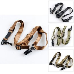 Wholesale Multi Mission Sling System - Tactical Multi Mission Rifle Sling Gun Sling Gun Strap System Mount Set Sling Belt Strap Accessories Army Green Black Tan Top Quality